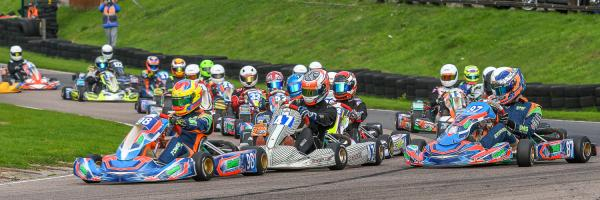 Fast paced action at Bayford Meadows
