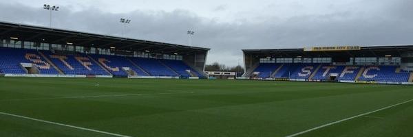Shrewsbury Town 1-1 Gillingham