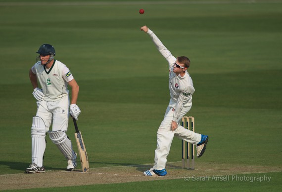 Adam Riley - Kent v Leicestershire - 2014 - 2 - SA