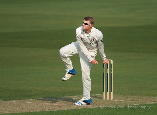Adam Riley - Kent v Leicestershire - 2014 - 1 - SA