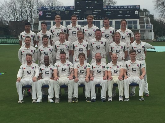 Kent Cricket County Championship Squad 2016