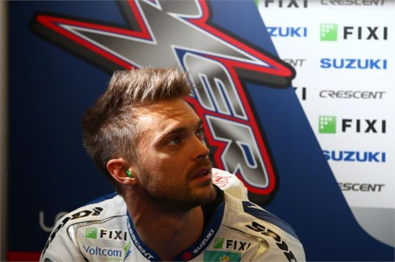Leon Camier has been left disappointed by his release from Fixi Crescent Suzuki this week after believing a deal for 2014 was done. - Leon-Camier43-570x379