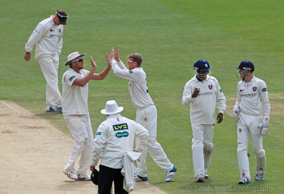 Cricket - LVCC Division Two - Kent v Surrey - The Spitfire Ground, St Lawrence, Canterbury, England