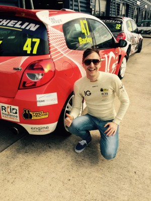 Tom Barley - Clio Cup 1